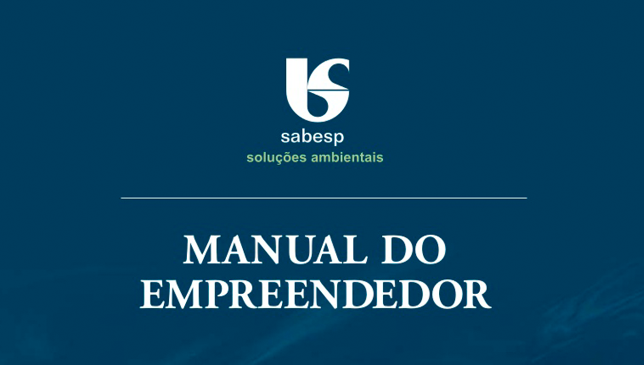 Sabesp publica novo Manual do Empreendedor